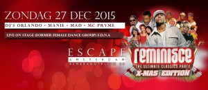 Xmas Editie - 27 dec Escape
